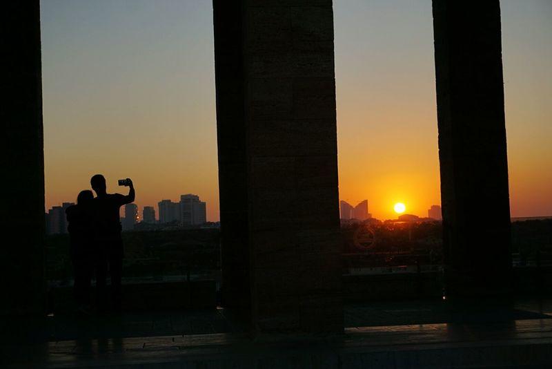 Anıtkabir'degün batımı Architecture Anıtkabir City Ankara Ankaradayasam EyeEm Best Shots EyeEmBestPics Türkiye Turkey Sunset Sunset_collection Sony A6000 Ilce6000 Günbatımı Eyem Türkiye Museum Sommergefühle