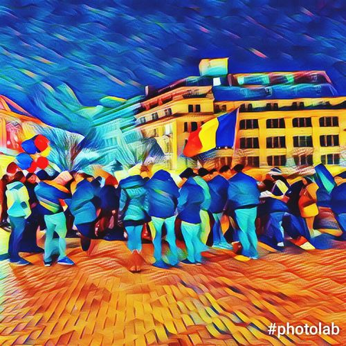 protest Protest Rezist Rezist Romania AntiCorruption Rule Of Law Peaceful Diaspora Social Democracy Multi Colored The Troublemakers