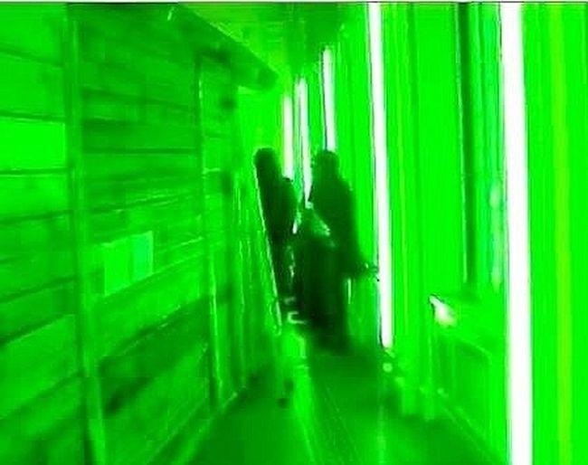 green room. Green Room