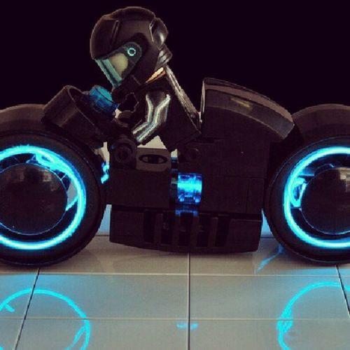 I wish I thought of this! RAD LEGO Tron Whomadethis ? ftw