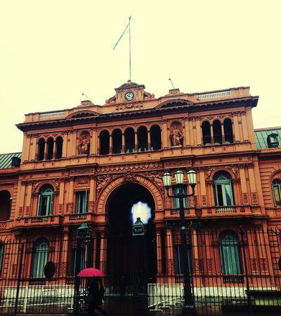Casa rosada Building Exterior Architecture Buenosaires CasaRosada