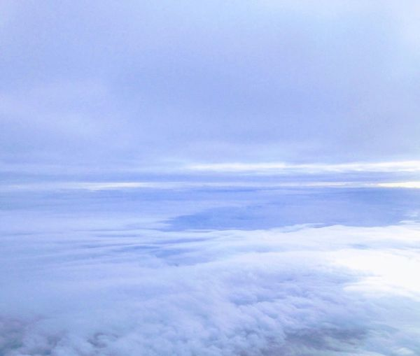 Cloud - Sky Nature Beauty In Nature Sky Cloudscape Scenics Tranquility Sky Only White Color Heaven Backgrounds Tranquil Scene No People Softness Outdoors Day Aerial View Blue The Natural World Ethereal