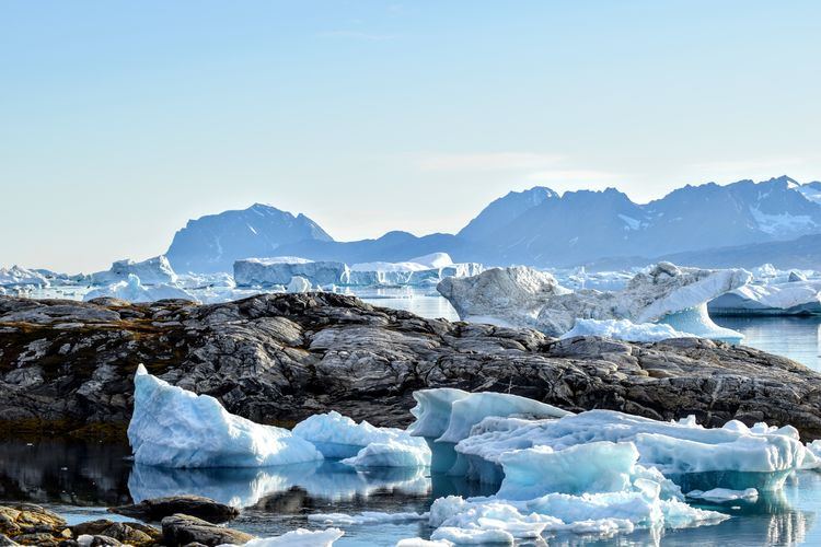 summer in Greenland Greenland Icebergs Beauty Beauty In Nature Day Landscape Nature No People Outdoors Scenery Scenics Water NIKON D5300 Ice Iceberg Sea Glacier Cold Temperature Polar Climate