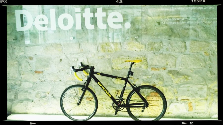 Deloitte for cycling! Hello World First Eyeem Photo