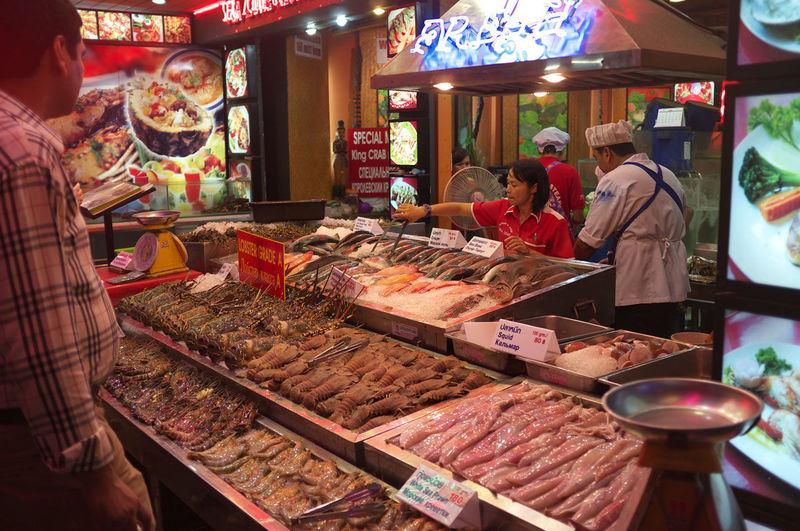 тайланд паттайя самые дорогие морепродукты на Walking Street