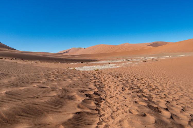 Unbelievable and super hot day at deadvlei