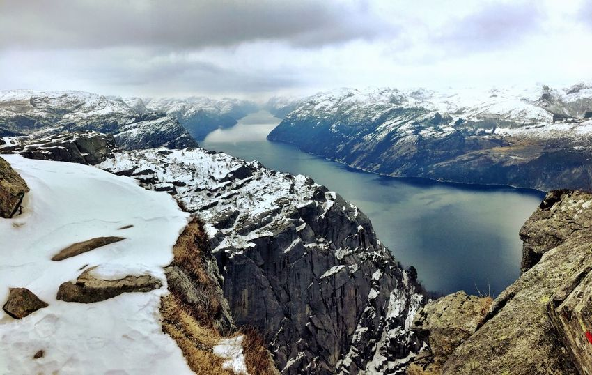 Preikestolen Panorama Skyporn Same Same But Different Amazing Places Amazing_captures Breathtaking Breathtaking View Fjord Fjords Fjordsofnorway Epic_captures Shades Of Winter An Eye For Travel