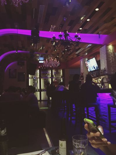 Loungebar Bar Hungry Hanging Out Dinner Time Enjoying Life Happy Time I'm Hungry  Night Nightphotography