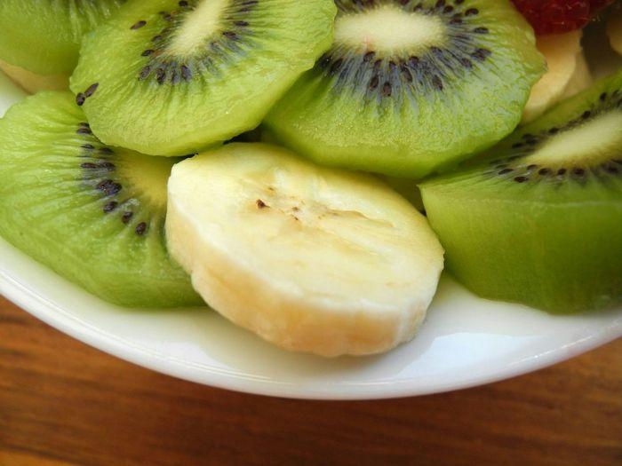 Detail shot of fruit slices