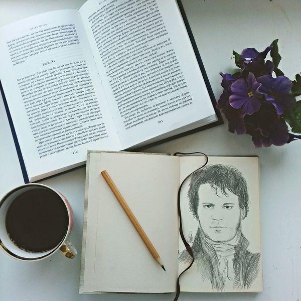 Book Memories Day Coffe Coffee Time Prideandprejudice Jane Austen Art