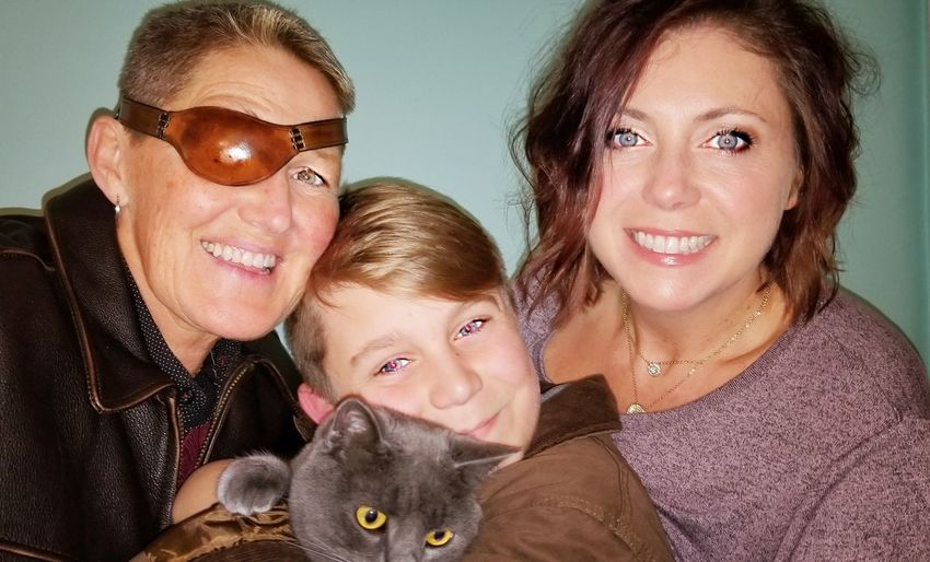 family 2 Moms Young Boy Adolescent 2 Women Lexington KY this is family Lgbt Lgbt Community Blond Boy Save A Stray Adopt Don't Shop AdoptDontBuy EyeEm Selects Love Sweet Our Cat Feline Russian Blue Family Portrait Child Bonding Smiling Togetherness Females Childhood Happiness Organized Group Photo Women Cheek To Cheek