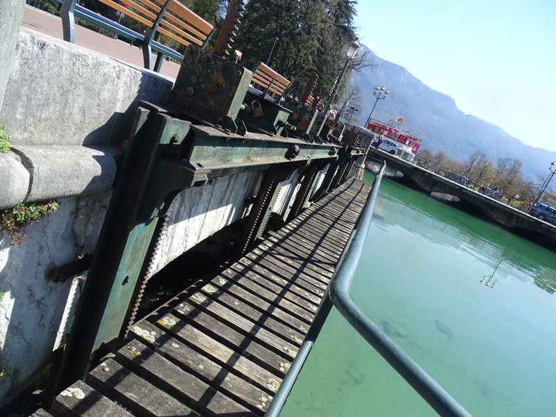 Annecy Annecy Lake Canal Lac D'Annecy Romantic Place Romantique Thiou Water Écluse