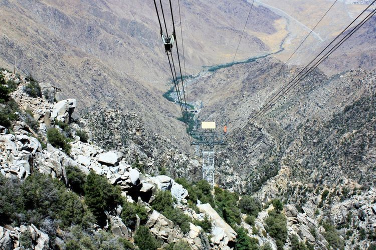 Desert High Angle View Landscape Mountain Nature No People Outdoors Rock - Object Scenics Tramway