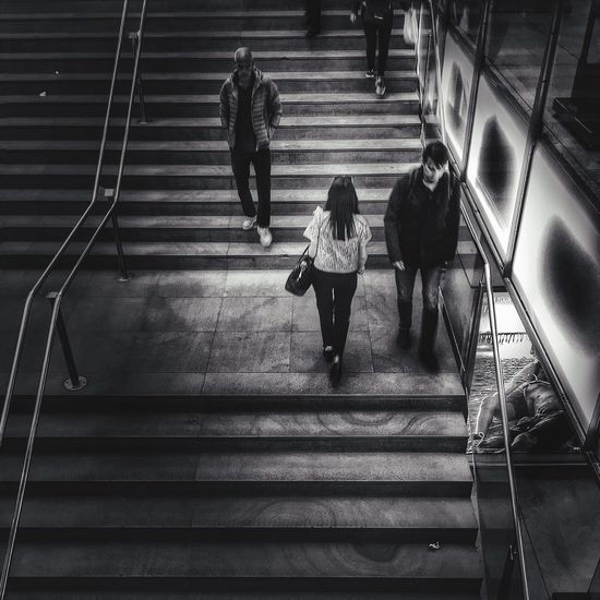 casual encounters | #ShotOniPhone6S #ProCamera | Snapseed//DramaticB&W Youmobile Shootermag EyeEm Blackandwhite IPhoneography Notes From The Underground