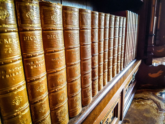 Dickens Books Within Cardiff Castle AndySage EyeEm EyeEm Selects EyeEmNewHere Literature And Art Storytelling Antique Book Bookshelf Close-up Dickens Education Hardcover Book In A Row Indoors  Learning Library Literature No People Publication Shelf Still Life Studying The Past Wisdom