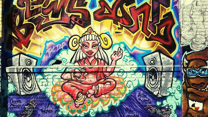 Graffiti Art Rat The Message