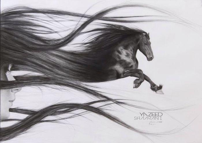"Very talented guy ""Yazeed"" from #Saudi @YazeedShaarani http://t.co/NDL0THgasT #Draw #talent #amazing #pencil #KSA #USA #Art"