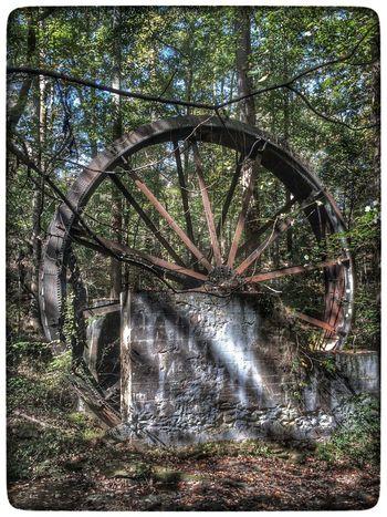 Reedit - old waterwheel in Greer, SC Taking Photos Hdr Edit Beautiful Day