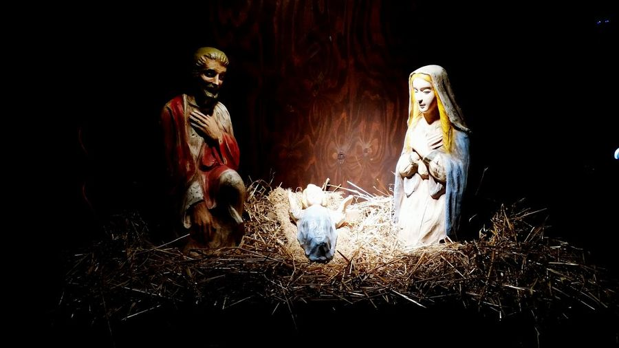 Beautiful Nativity Scene Things I Saw Today Christmas Around The World Catholic Church Baby Jesus Wonderful Display Yard Decorations