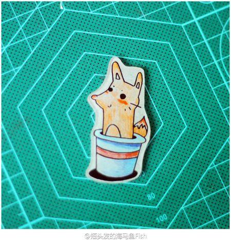 refrigerator magnets Crafts Refrigerator Magnets Handmade Fox🐺 Cute Cuteeee♥♡♥