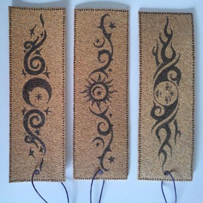 My sun and stars... Moon of my life... Inspired Bookmarks
