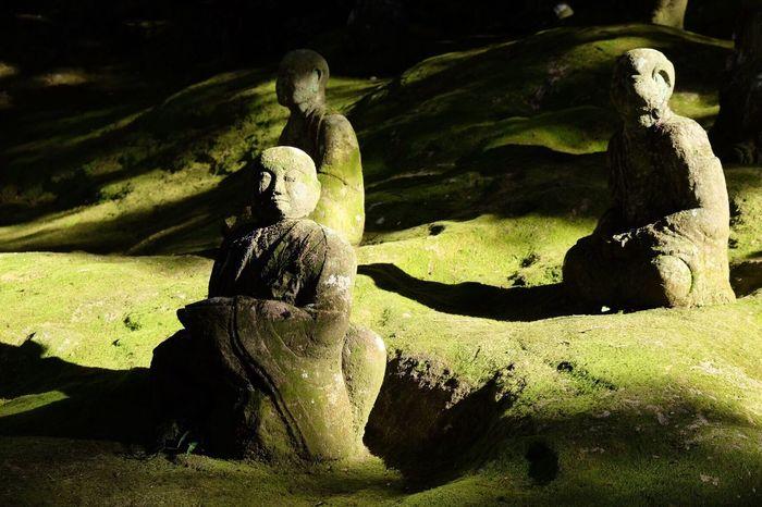 Silhouette Light And Shadow EyeEm Best Shots 3XSPUnity Rock - Object People 五百羅漢 Green Zen 禅 熊本 Beauty In Nature Unganzenzi Day Outdoors