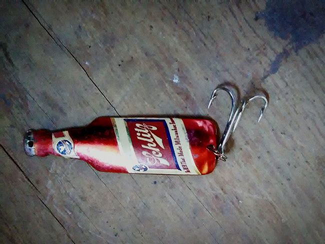 Lieblingsteil Outdoors No People Close-up Evening Fishing Lure Beer Vintage Treasures