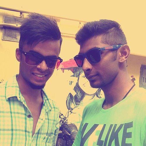 Page_3 Haircut Bike Ride 120Kmph @dhishanth_benolin feeling Good ;)
