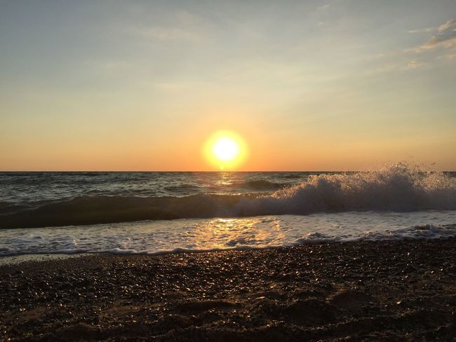 Sunset 🌅 Sunset No People Summer No Filter, No Edit, Just Photography Beach Sea Beauty In Nature A Collection Of Sunsets Sunset_collection Outdoors EyeEm Gallery Sky Beautiful Nature Sunset 💛 Collection Water Sun No Edit/no Filter No Edit No Filter Photography