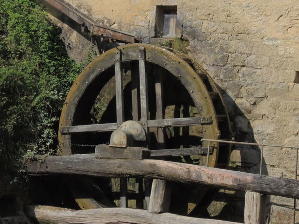 Molinetto Della Croda Architecture Built Structure Close-up Day Machinery Manufacturing Equipment Metal No People Old-fashioned Outdoors Water Wheel Watermill