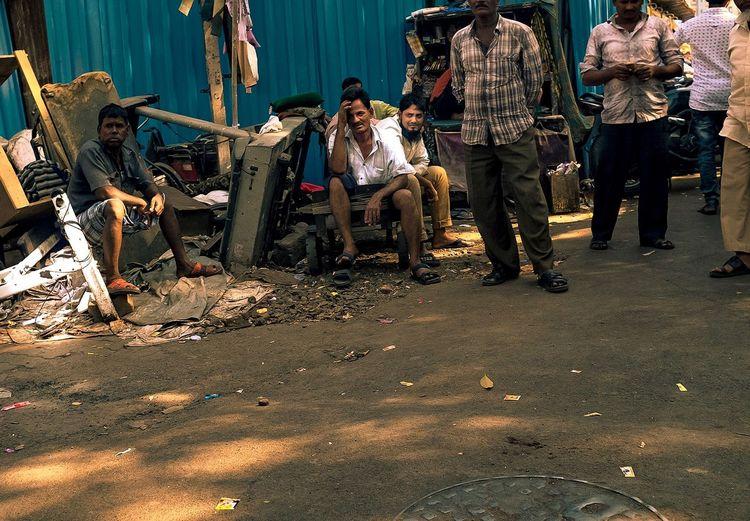 Bazaar Hot Day