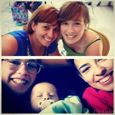 Feliz dia das madrinhas às melhores madrinhas do Mundo 💙💚💛💛💜 (A Beatriz não pode desejar o feliz dia à madrinha Tatiana mas eu desejo 👶) OBRIGADA POR TUDO MADRINHA BELITA 👑 Madrinhabelita Madrinhatatiana FelizDIa