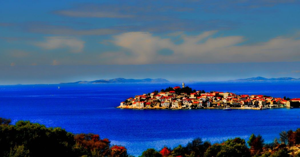 Sea Water Outdoors Nature Sky Dawn Fog Beauty In Nature Beach Primošten Croatia ♡ Dalmatia