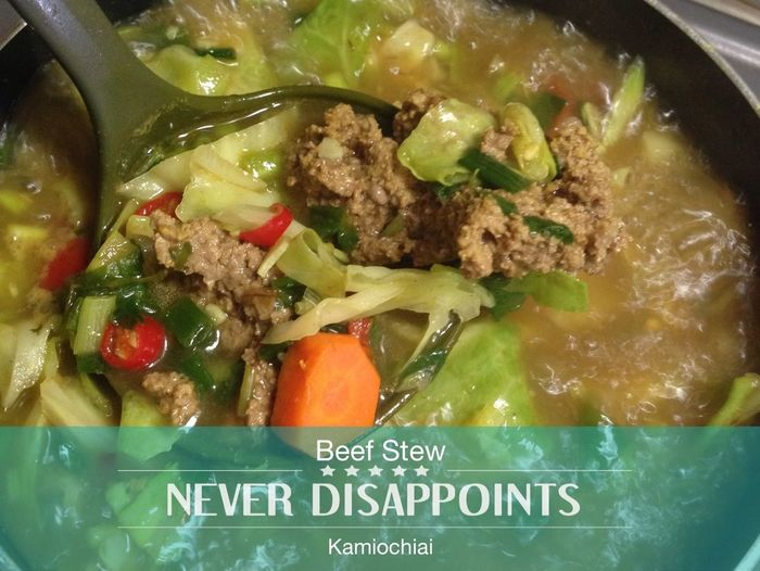 Beef Stew mix Vegetables by Chef Irma