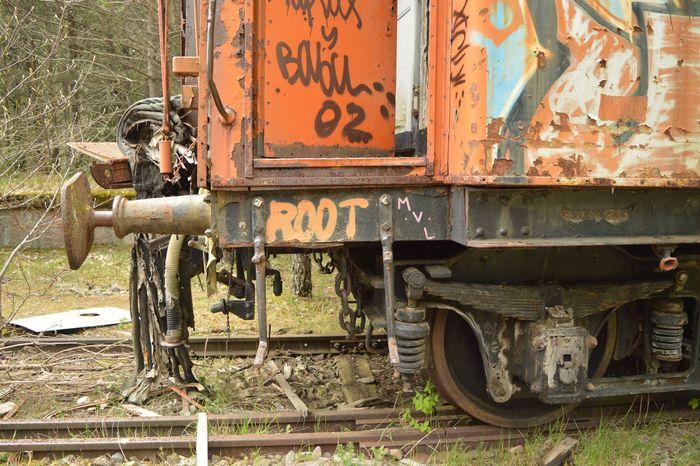 Root Aragon, Spain Aragón Railroad Station Railroad Track Canfranc Estacion Canfrancinternationalstation Canfrancestacion Canfranc Land Vehicle Mode Of Transportation Transportation Day Metal Rusty No People