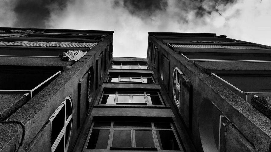 Black And White Constrast Buildings The Street Photographer - 2018 EyeEm Awards