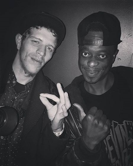 After the show with devin the dude Devinthedude Legend Rap Smokesome Rapper Oldschool Gooddude