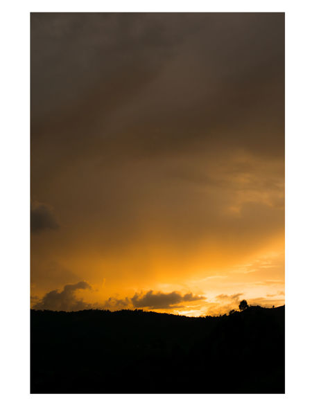 Sunset Cloud - Sky Silhouette Nature Scenics Tranquility No People Sky Outdoors Beauty In Nature Day