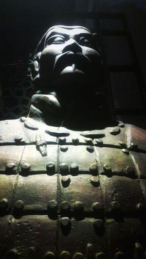 Close-up Statue Soldier Asian  Asian Culture Grandiose