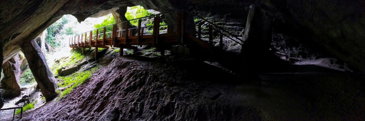 Caglieron Caves Fregona Treviso Veneto Italy Travel Photography Travel Voyage Traveling Mobile Photography Fine Art Backlight Panoramic Views Access Trails Rock Pillars Walkways  Showcase July