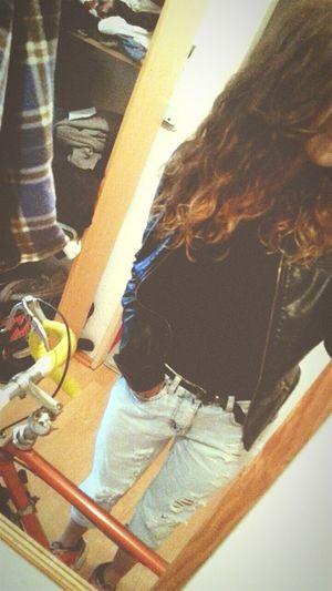 That's Me Styleoftheday Mystyle Boyfriend Blue Jeans Blackshirt GoOut❤️