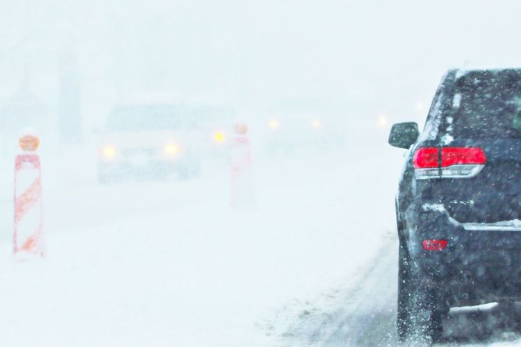2016 Bad Weather Blizzard Blizzard 2016 Blizzard2016 Cold Cold Day Cold Days On The Road On The Road With BlaBlaCar Poor Visibility Snow White Out Winter Wintertime