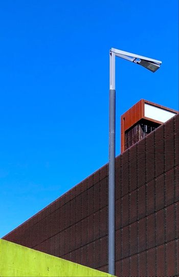 Near the Copper Box @ Olympic Park Architecture Built Structure Sky Building Exterior Clear Sky Blue Day