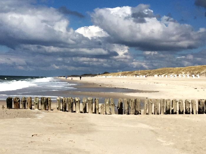 Sylt Strand Nature Outdoors Tranquility Beauty In Nature Bühne