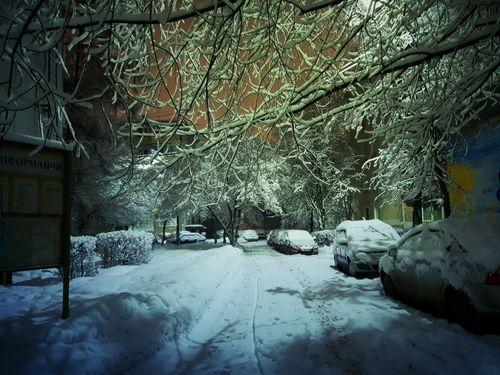 Snow The Way Forward Car Transportation Winter Street Built Structure The Street Photographer - 2018 EyeEm Awards