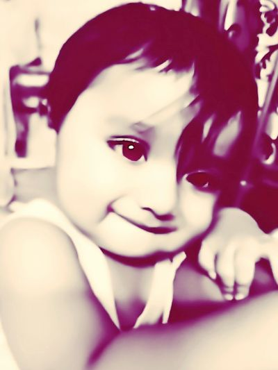Eyes can be naughtier. ... Son Cute Baby Naughty♥