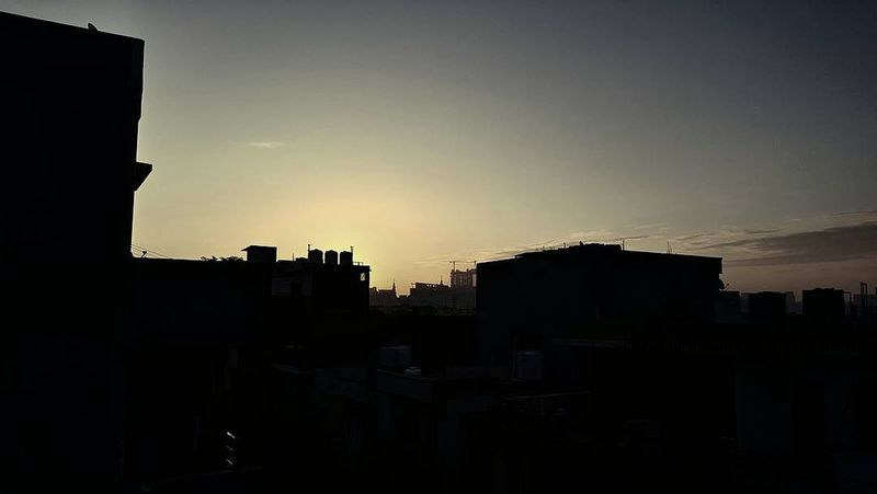 Sunrise Sunset Silhouette City No People Sky Travel Destinations Architecture Cityscape Outdoors Urban Skyline Nature Day