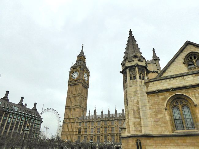 Architecture Big Ben Brexit Vote British Government EyeEm LOST IN London The London Eye Tourist Attraction  Tourist Destination. Towers And Sky Architecture Brexit Clock Tower Government History Low Angle View Medieval Architecture No People Sky