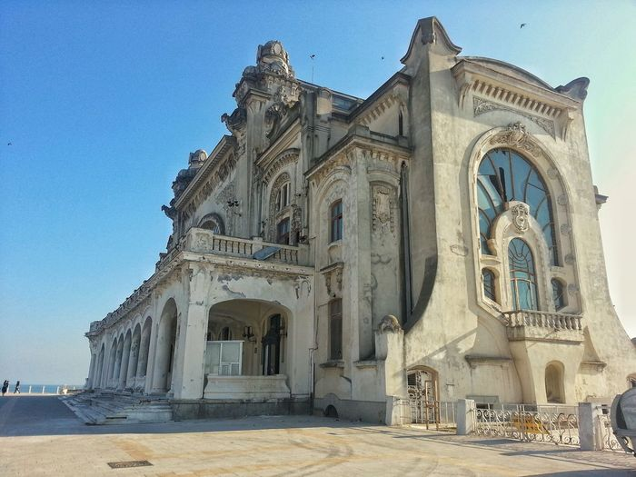 Old Constanta County Casino,representative monument for this region Blue Built Structure Sky Day Travel Destinations Clear Sky History Building Exterior Outdoors Low Angle View Constanța -România Casino Constanța Black Sea♥ EyeEm Best Shots EyeEm Gallery EyeEmNewHere The Week On EyeEm Lost In The Landscape