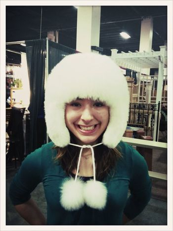"""Wearing the 'happiness"""" hat People AMPt_community Color Photography Hats"""